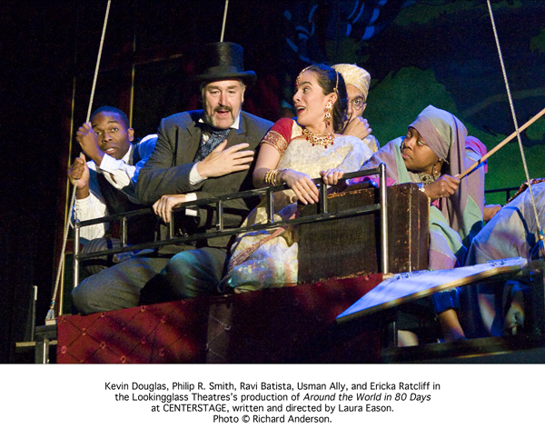"""Around the World in 80 Days"" at the Centerstage"