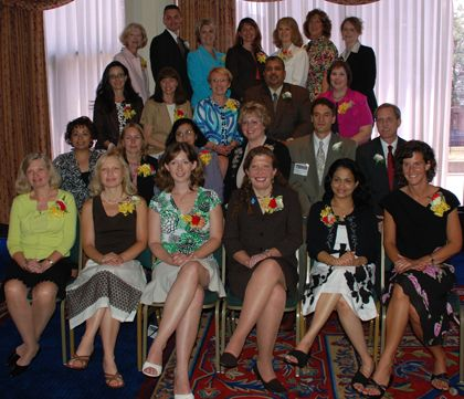 2007-2008 Teachers of the Year at the Sheraton Hotel on May 31, 2007