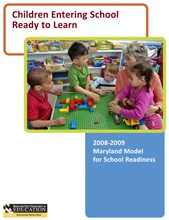 School Readiness Report 2008-2009