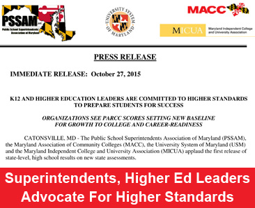 Higher Ed for Higher Standards