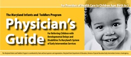 Maryland Infants and Toddlers Program (MITP) Physician's Guide